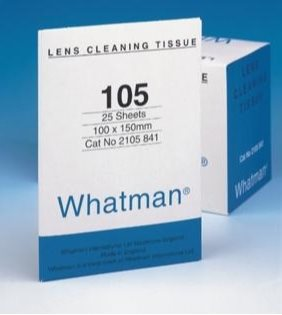 Whatman - Cleaning tissue f/lenses 1 pack of 25 pcs.